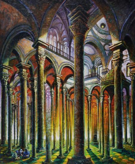 Les trois imposteurs, huile sur toile, 73x60cm, 2012